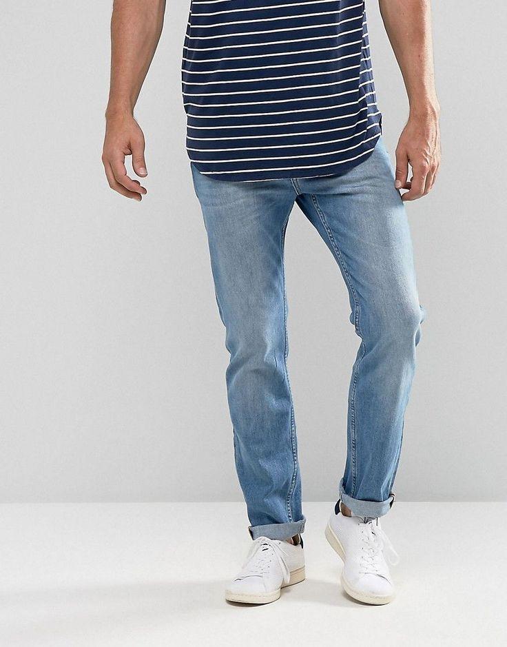 Lee Rider Slim Fit Jean Light Wash - Blue