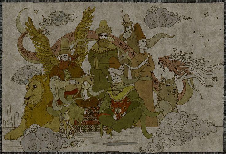 horasan erenleri by mahlukat.deviantart.com on @DeviantArt