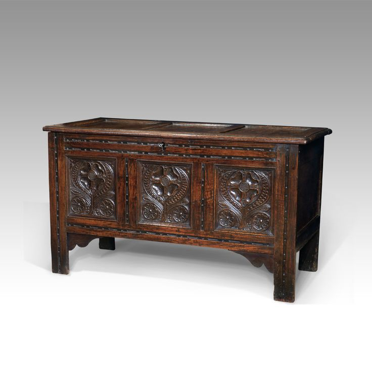 Stunning 17th Century Oak Coffer 🔎search By Stock No. 4996🔍 #antique #