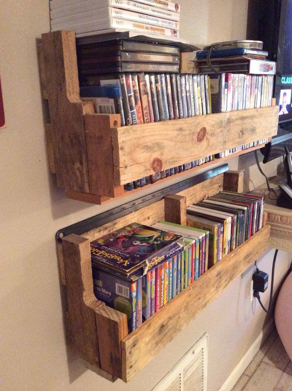 Pallet Wood DVD Holder/Shelf                                                                                                                                                                                 More