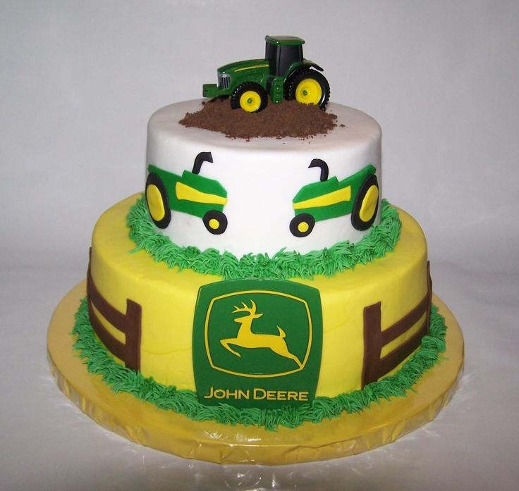 12 best John Deere cake ideas images on Pinterest John deere