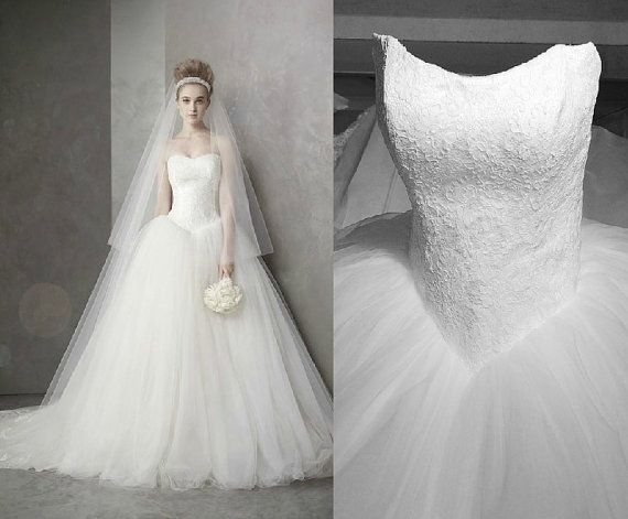 Vera Wang Tulle Ball Gown – fashion dresses
