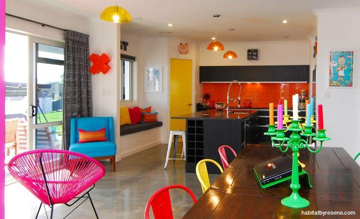 Lolly scramble: using bright colour | Habitat by Resene