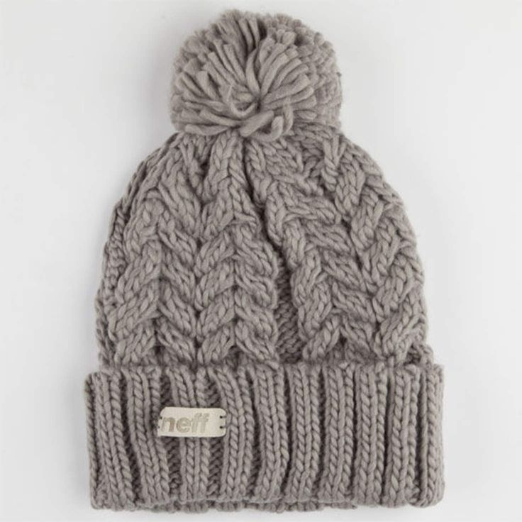 Neff Kaycee Beanie Grey One Size For Women 24778911501