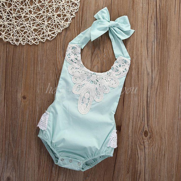 SUMMER NEWBORN INFANT BABY GIRL ROMPER OUTFIT BODYSUIT JUMPSUIT SUNSUIT CLOTHING