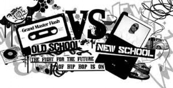Old School Rap Vs. New School Rap