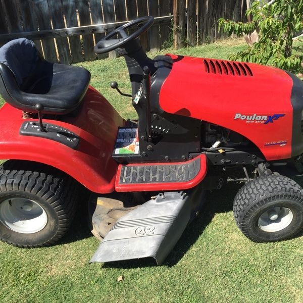 For Sale: Riding Mower  for $550