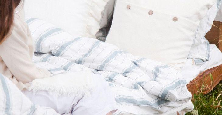 Libeco Vineyard Stripe Bed Linen - Madison