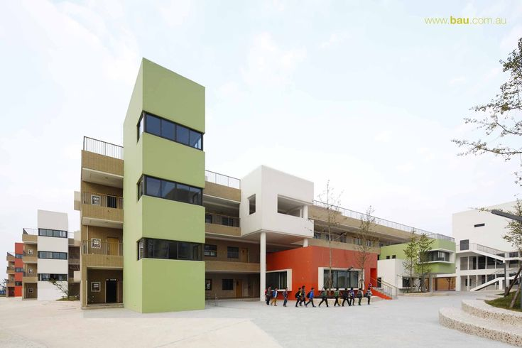 Gallery - Jiangyin Primary & Secondary School / BAU Brearley Architects + Urbanists - 7