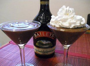 Chocolate Irish Cream Pudding   St. Patrick's Day & Irish Goodies   P...