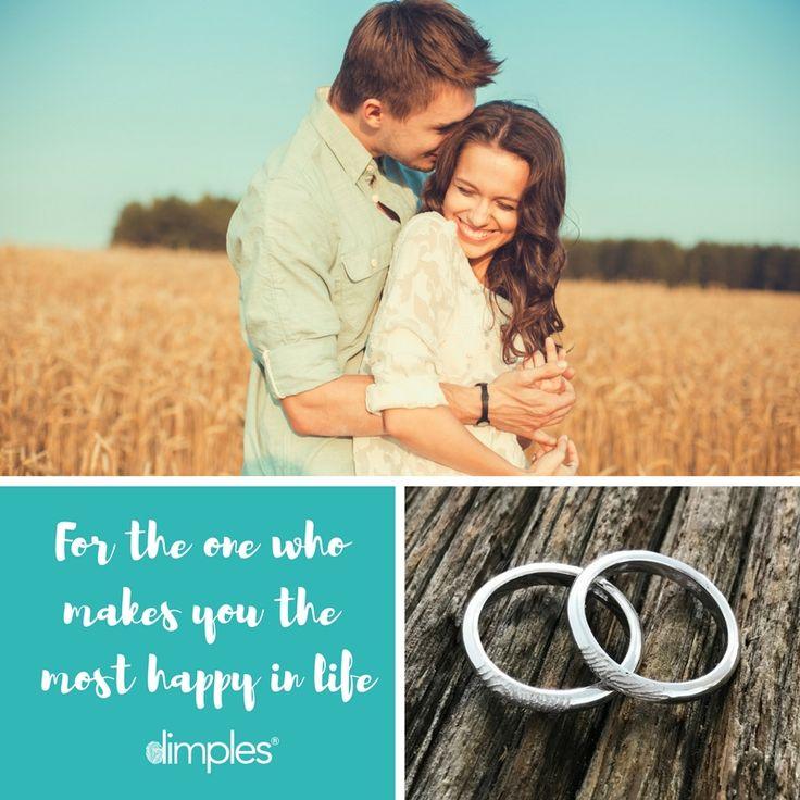 Fingerprint Wedding Rings. Rings with his and her fingerprints. Stay together forever. #weddingbands #weddingrings #fingerprintring