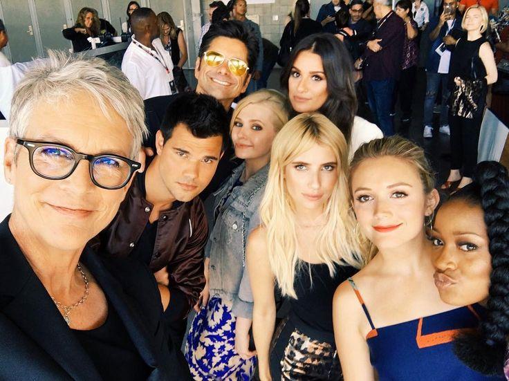Jamie Lee Curtis, Taylor Lautner, John Stamos, Abigail Breslin, Lea Michele, Emma Roberts, Billie Lourd, and Keke Palmer