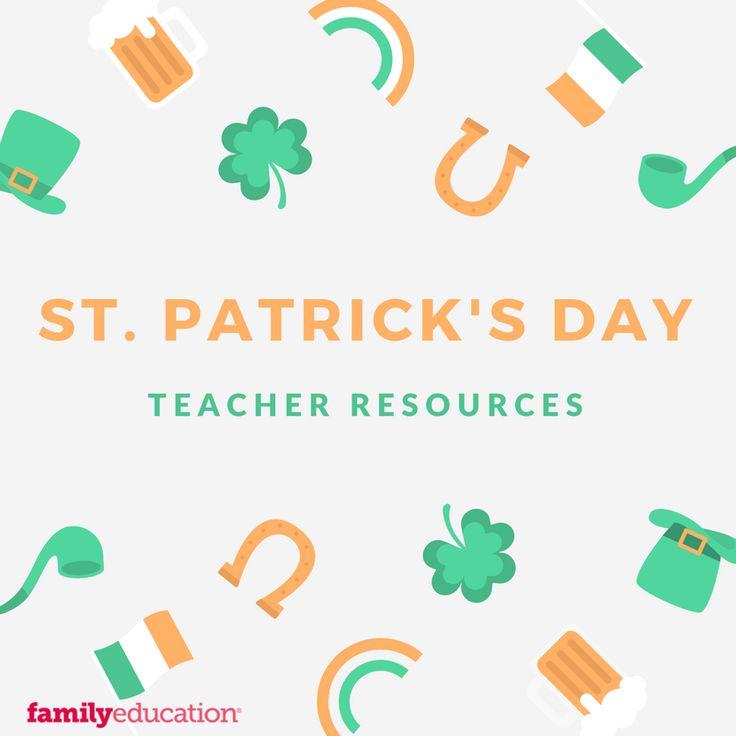 St. Patrick's Day Teacher Resources