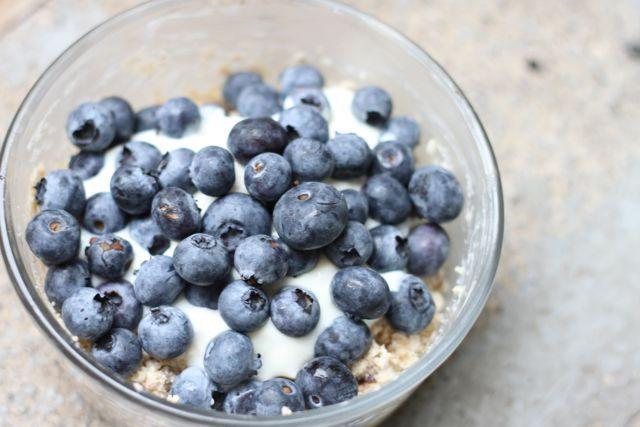 Blueberry Quinoa Bircher Muesli