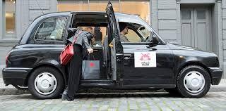 A Cab door