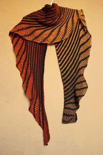 shawl, chusta, pattern: Nymphalidea by Melinda VerMeer, Aade Long 8/2, Merino Gold, knitting, druty, handmade by Kassy