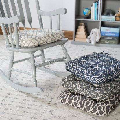 Belham Living Printed Indoor Rocking Chair Cushion