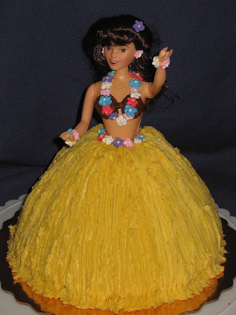 hula cake | Hula Girl Cake | Flickr - Photo Sharing!