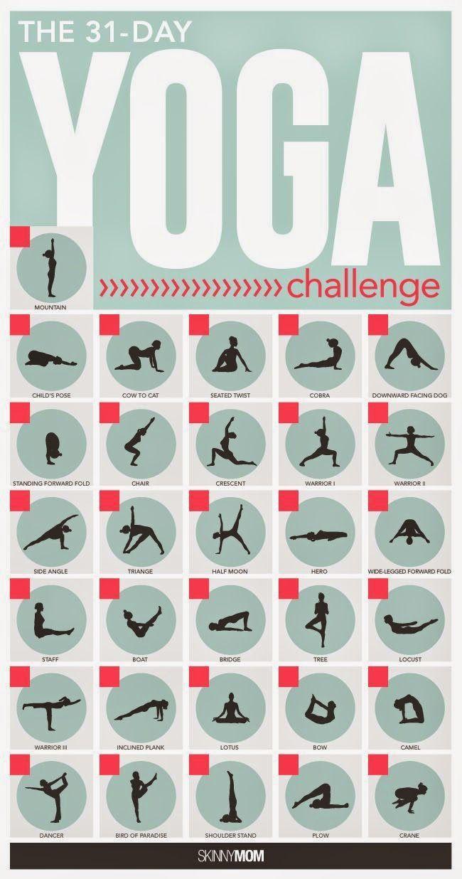 The 31 Day Yoga Challenge