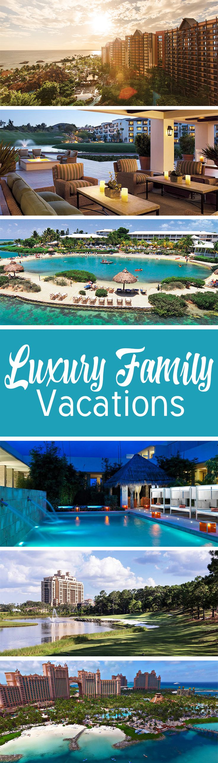 Want to give your family a special treat? These resorts will pamper everyone, with lots of fun activities.