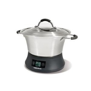 Morphy Richards Flavour Savour 48784 Slow Cooker 4.5 Litre, Stainless Steel