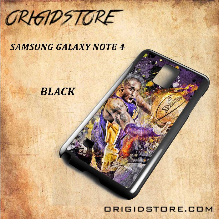 Kobe Bryan Spalding Basketball For Samsung Galaxy Note 4 Snap On and 3D Case