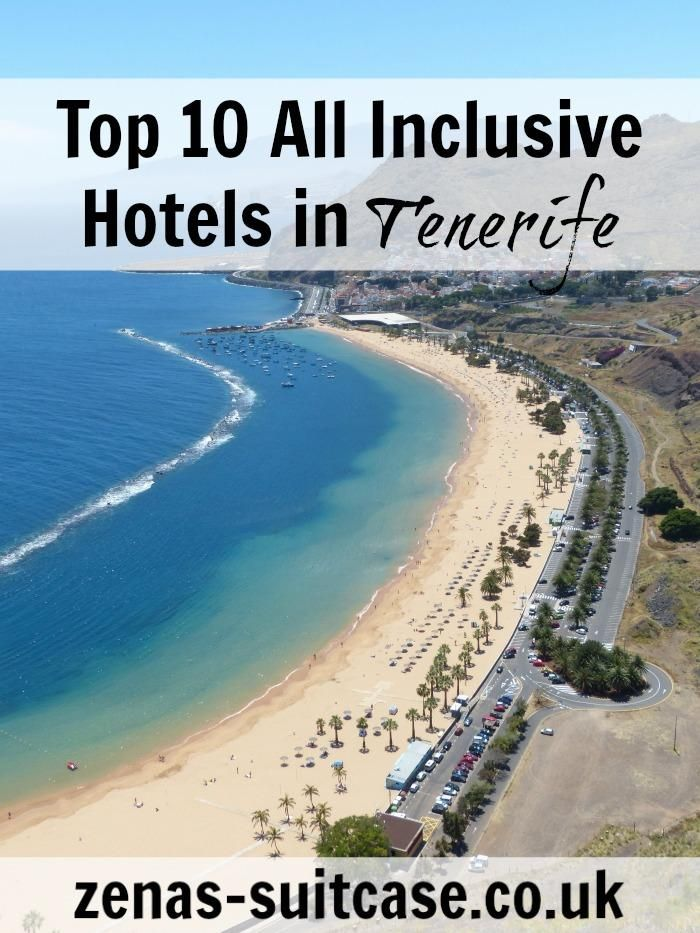 Top 10 All Inclusive Hotels in Tenerife   Where To Stay In Tenerife   All Inclusive Hotels Tenerife   Holiday ideas Canary Islands