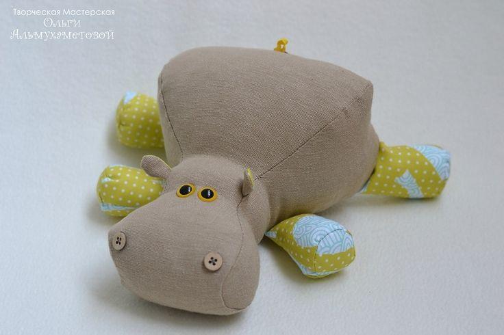 Hippos - free pattern!