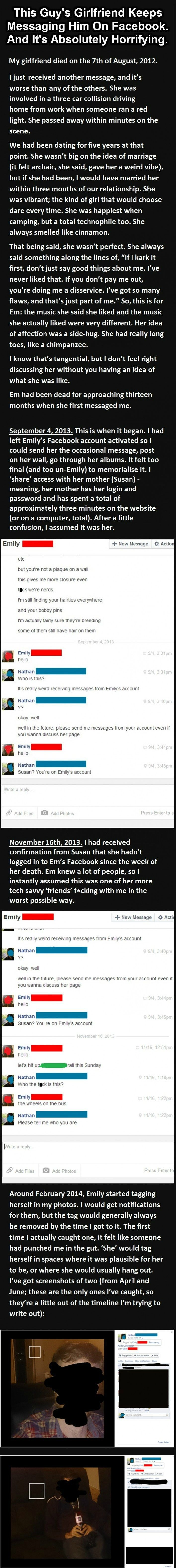 sister, don't read on pinterest. go to page for full story.  Scary read(had to be posted again) - Imgur