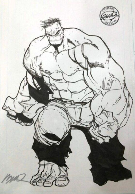 The Incredible Hulk - Humberto Ramos Comic Art