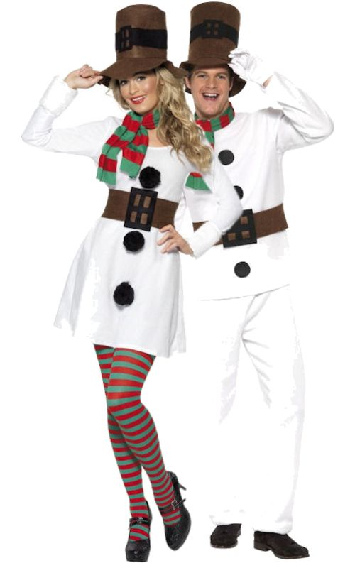 Mr & Miss Snowman Combination [GIO67475] - £49.99 : Get It On Fancy Dress Superstore, Fancy Dress & Accessories For The Whole Family. http://www.getiton-fancydress.co.uk/adult-costumes/couples-costumes/mr-miss-snowman-combination#.UnguE1OnIYI