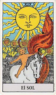Cartas Tarot Gratis: Significado de El Sol en Tarot Rider Waite