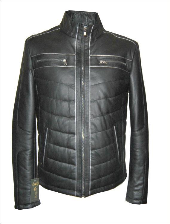 Ανδρικό δερμάτινο μπουφάν  Μοντέλο: S-919 Δέρμα: nappa vintage Τιμή: 420€
