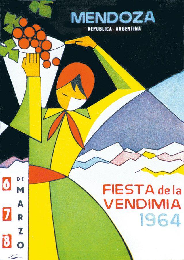 1964, Fiesta Nacional de la Vendimia, Mendoza, Argentina #WineUp