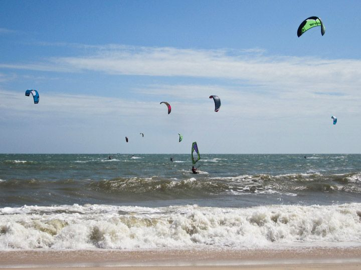 Windsurfing, Mui Ne, Vietnam - another great #honeymoon idea