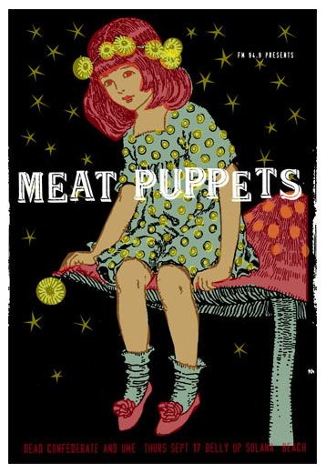 """Meat Puppets - """"Backwater"""" is my favorite of theirs, totally not to be confused with the song by Brian Eno"""