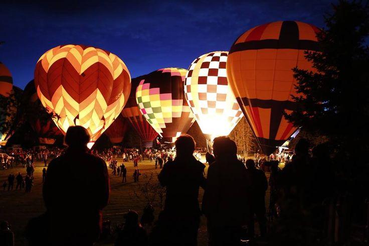 Thumbs Up: Hot air balloons light up High River, Alberta!