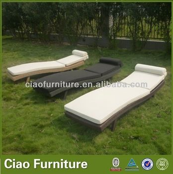 stackable patio plastic rattan sun lounger, View plastic rattan sun lounger, CIAO Product Details from Foshan Ciao Furniture Co., Ltd. on Al...