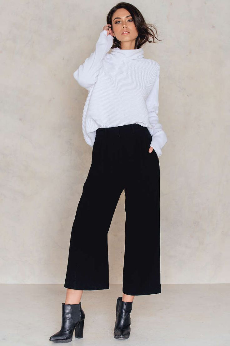 Wide Suiting Pants