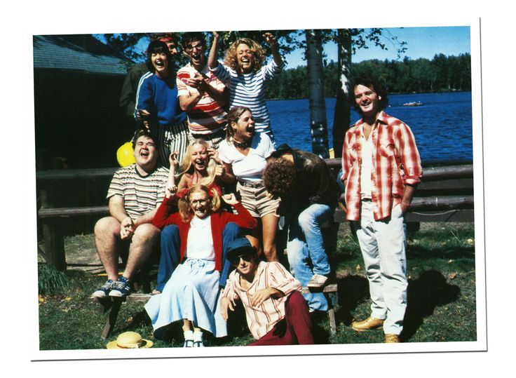 Top, left to right: Margot Pinvidic, Matt Craven, Jack Blum, Sarah Torgov. Center: Keith Knight, Cindy Girling, Kristine DeBell, Bill Murray. Bottom: Norma Dell'Agnese and Todd Hoffman.