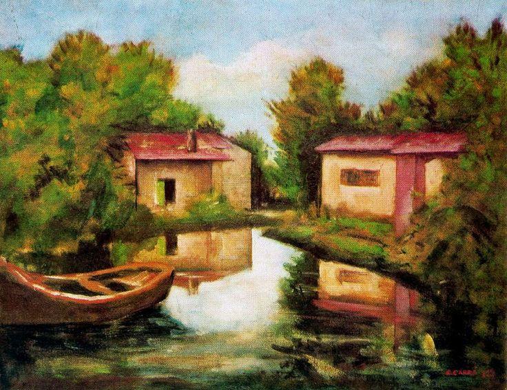 carlo carra paintings | Send eCard - Carlo Carra (41)