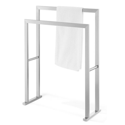 zack linea free standing towel rack - Bathroom Accessories Towel Rail