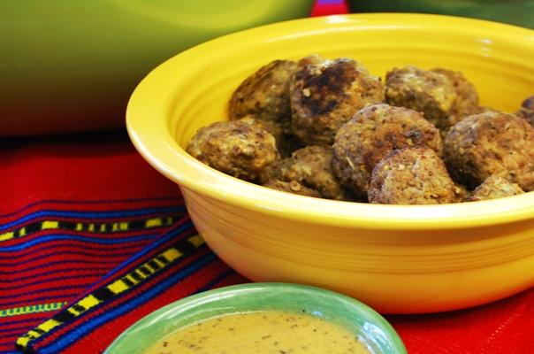 31 Guilt-Free Super Bowl Snacks — Swedish Meatballs #HealthBowl