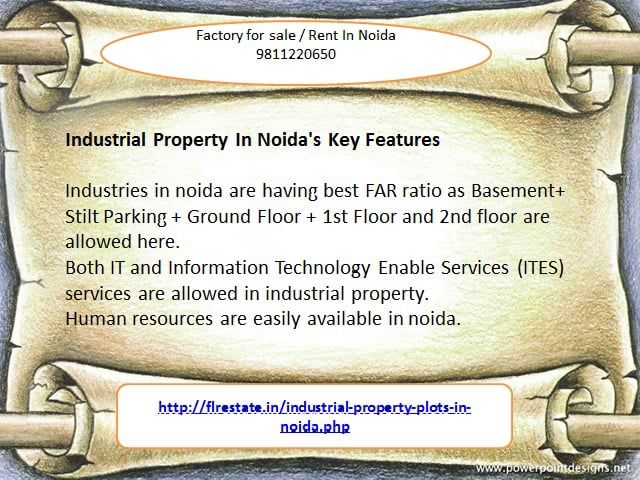 call 9811220650 for best deal in industrial plots in noida, rented industrial property in noida, industrial plots in noida expressway, industry for sale in noida
