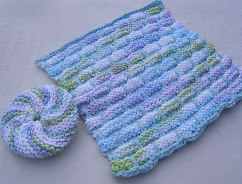 41 Best Knit Dishcloths Images On Pinterest Knitting Stitches