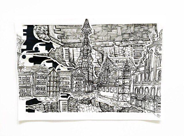 Evija Jonuska for the Umbrella Prints Trimmings Challenge 2016. Made with one packet of Umbrella Prints fabric Trimmings www.umbrellaprints.com.au