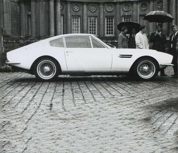 1967 - 1972 Aston Martin DBS. 1193 built. Straight six, DOHC, 3995 cc, 280 bhp @ 4500 rpm. 0-60: 7.1 secs.