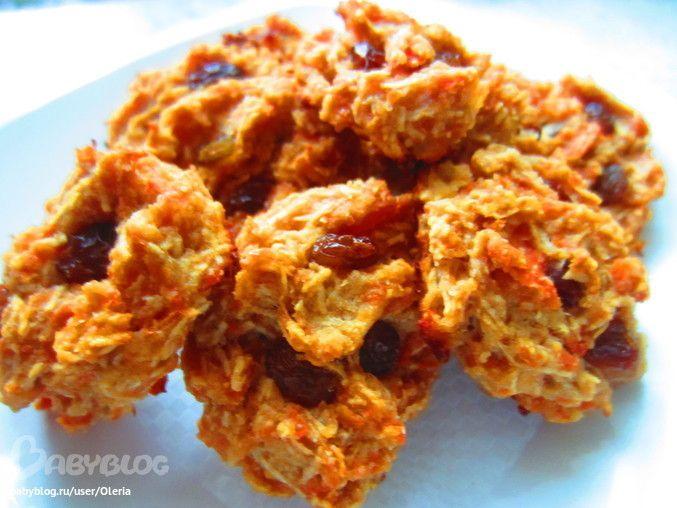 Яблочно-морковное печенье без сахара - Кулинарное сообщество - Babyblog.ru