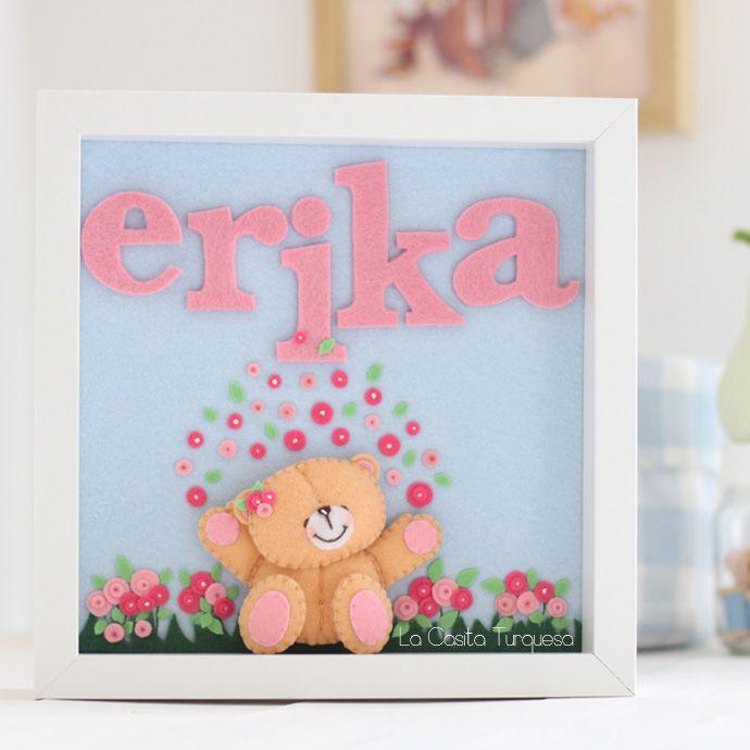 beary cute heart felt idea......upclose and personal too.  =0)
