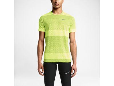 Nike Dri-FIT Cool Stripe Tailwind Crew Camiseta de running - Hombre